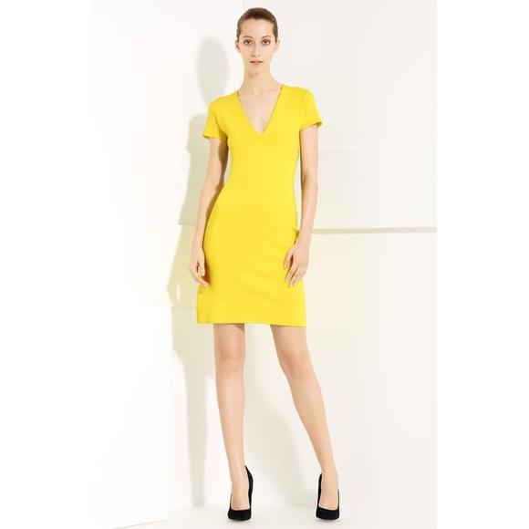 f6d278744d3b YIGAL AZROUËL Bodycon Colorblock Knit Dress. M 5b07176d077b97f150396379